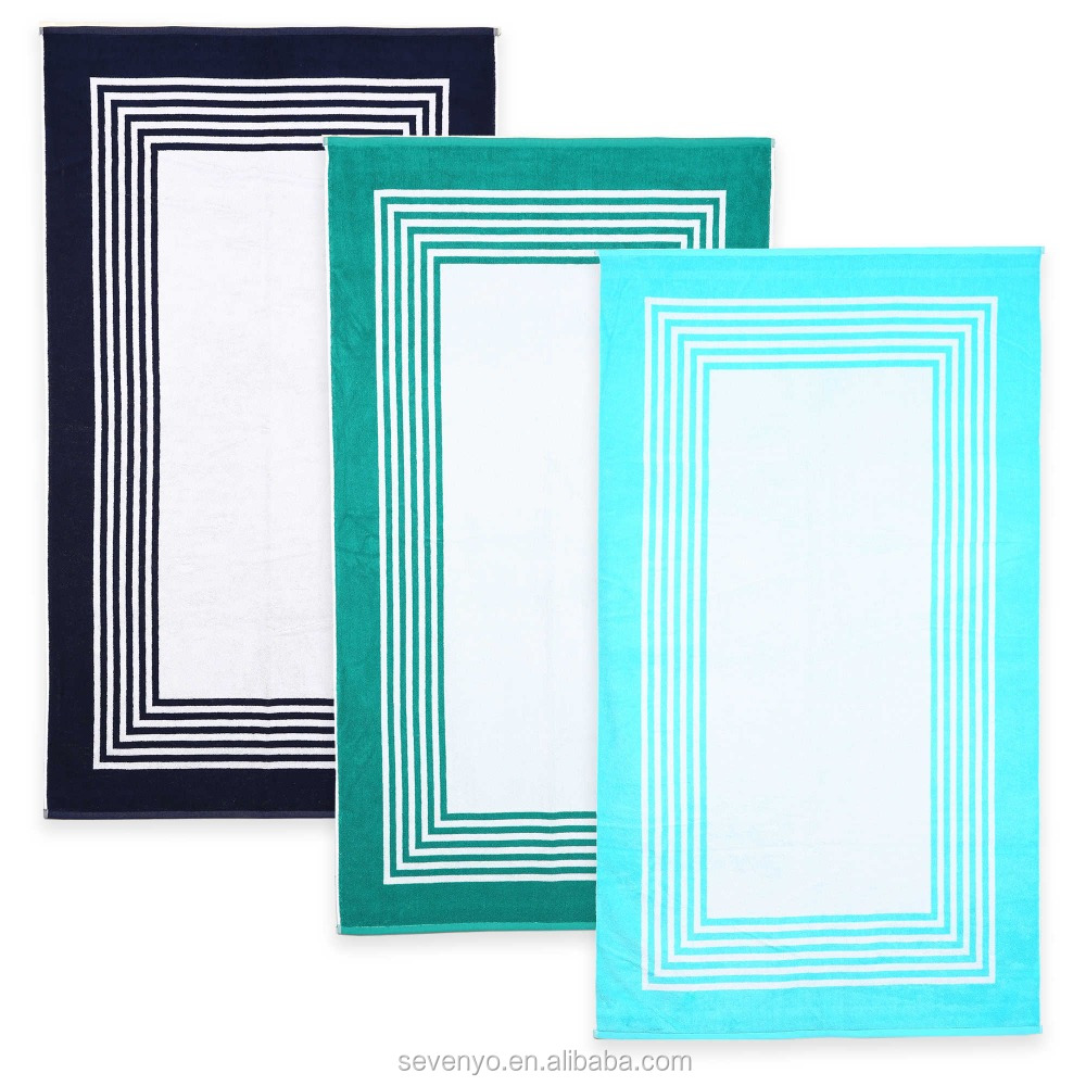 Layered Frame Resort Beach Towel BT-403 China Factory