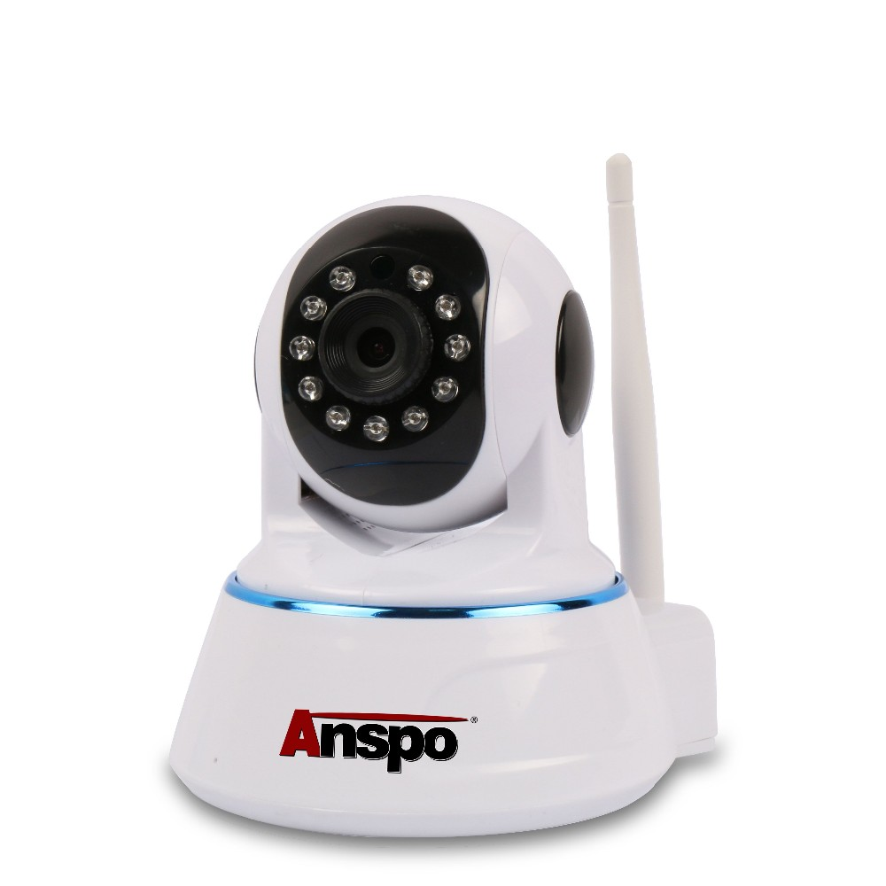 Anspo Wifi Network Mini Rotatable Smart Security System 3g