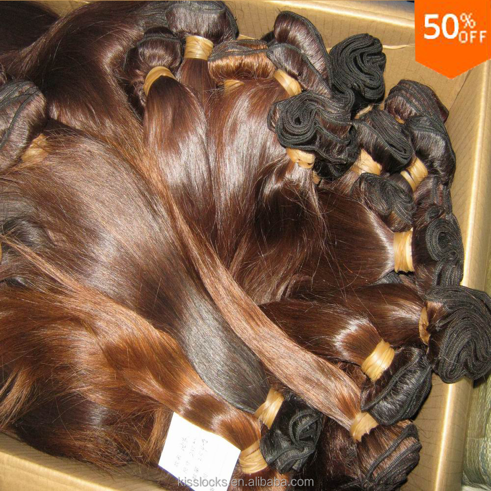 Latest Weaving Kenya African 7a Lower prices 10pcs/lot virgin 100 Malaysian straight <strong>Hair</strong> Natural brown Colors free shipping
