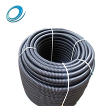 Grade pe100 full form 50mm 65mm 80mm 110mm hdpe corrugated pipe