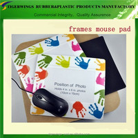 Trade assurance wedding photo frame mouse pad/lovely photo frames mouse pad/10x8 photo frames