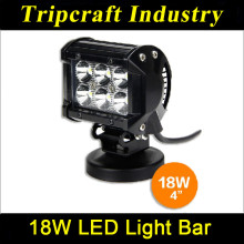 Car 18w dot led light bars 4 inch auto 4X4 led offroad light bar