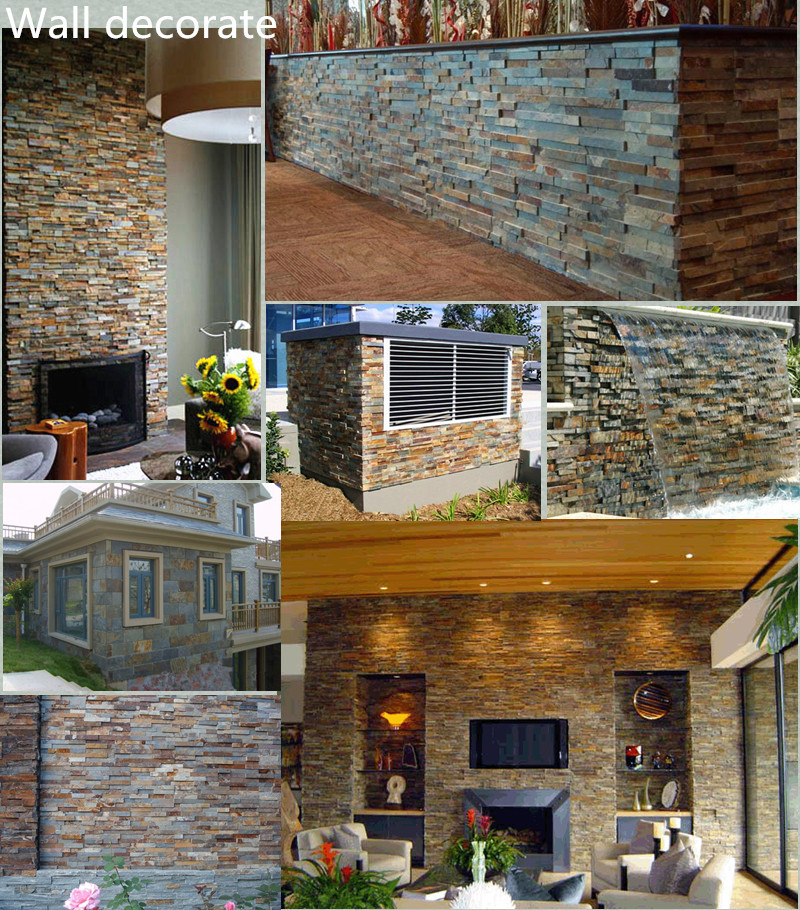 Outdoor wall covering modern house culture stone buy for Outdoor wall coverings garden