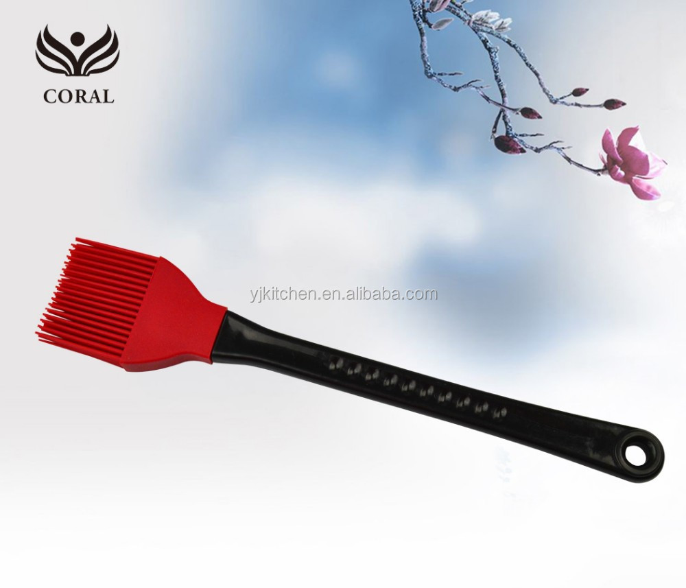 Wholesale eco-friendly heat resistant silicone rubber makeup brush