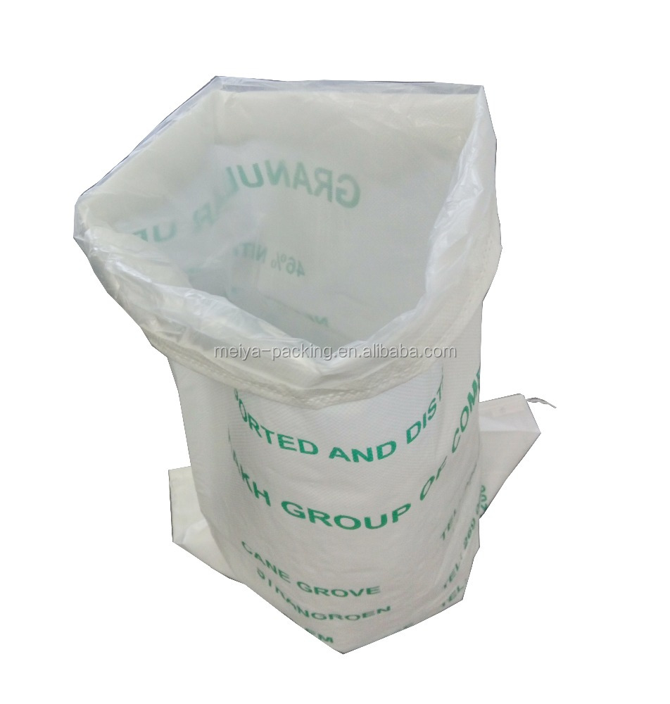 <strong>Plastic</strong> <strong>Material</strong> and Gravure Printing Surface Handling 50kg fertilizer bag