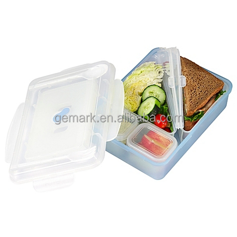 On the go 9pc Sandwich Lunch Box with Ice pack