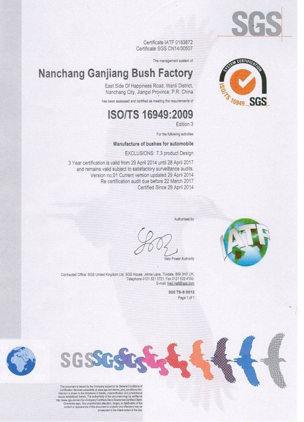 18 Years OEM China Supply Bushing, Bearing Bush, Spare parts