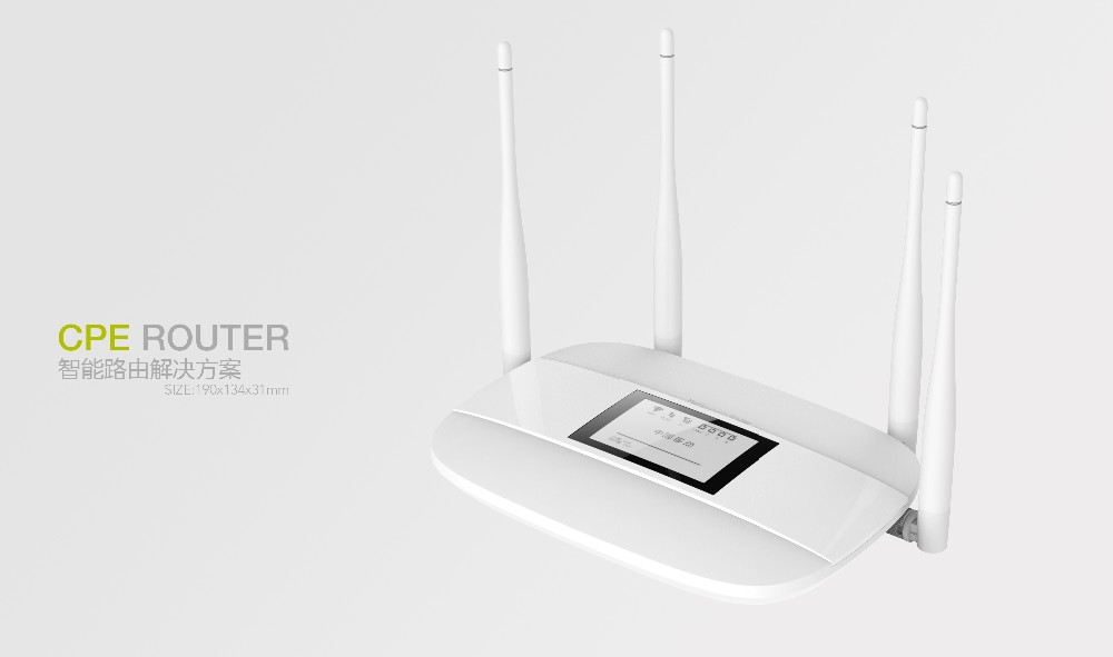 Unlocked 4G LTE CPE Router