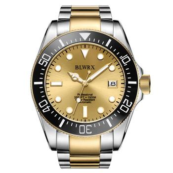 BLWRX 43mm Pro Automatic Dive Watch with Rotating Bezel Sapphire extended Diver Buckle