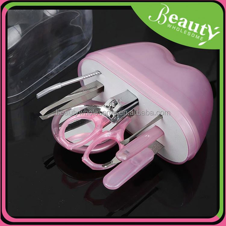 Steel nail cutter ,MY168 8 in 1 mini household manicure set in box