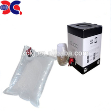 Bag in box packaging juice use 5l 10l 20l plastic liquid bladder