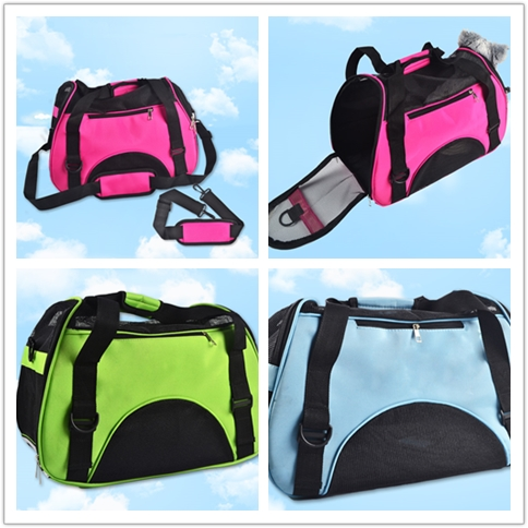 factory supply nylon pet bag carrier, cheap price dog bag