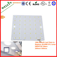 Square LED 18w Ceiling Light,SMD LED Module Driver