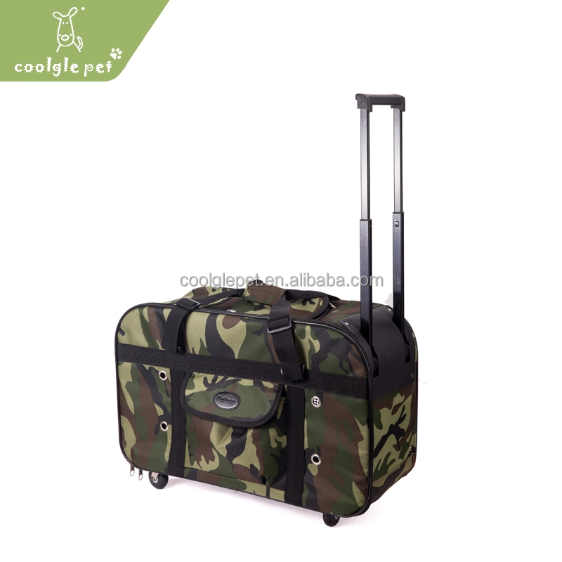 Dogs Cats Travel Out Breathable Pet Stroller Cool Camo Large Dog Carrier