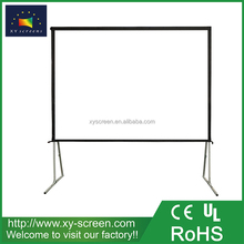 XYSCREEN 100 inch hd portable indoor/outdoor movie theater projection screen Fast-fold projection screen Perfect for travel