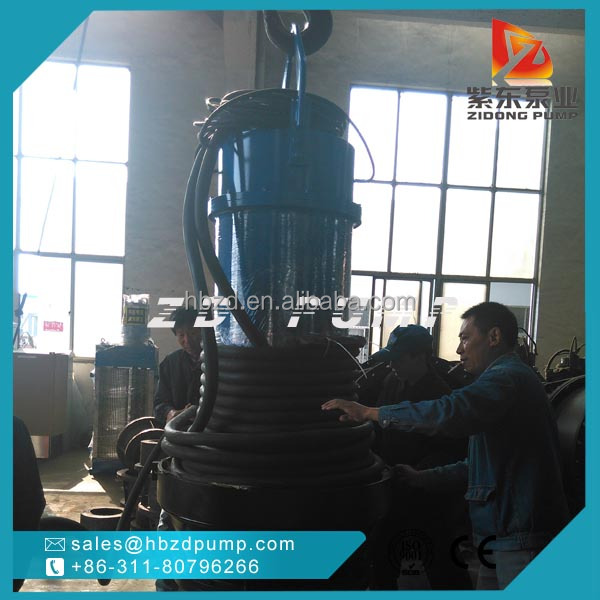 vertical axial mixed flow pumps for field irrigation 8