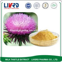 Natural Plant Extract Silymarin Milk Thistle Dried Powder