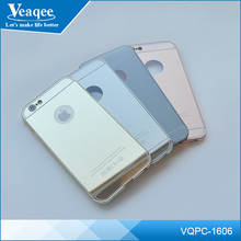 Veaqee Electroplating Mirror Push Pull Metal Protective Phone Case for iphone Case