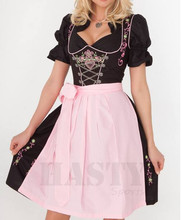 3pcs Traditional German Dirndls Bavarian Ladies Oktoberfest Dirndl Dress Trachten Wears dirndls