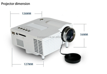 KOMAY Cheap Pico 80 Lumens HDMI LED 12V Video Projector UC28+ Pocket Portable Multimedia Proyector