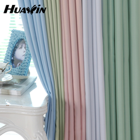 210gsm-270gsm curtain factory for blackout curtain fabric and ready made curtain