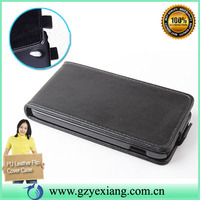 Black color Vertical Flip Soft Leather Case for LG Nexus 4 E960