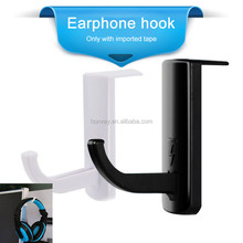 Headphone Headset Hanger Monitor Stand Holder Headset Stick-on <strong>Hook</strong>
