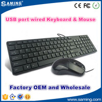 Hot sale business using wired keyboard and mouse latest computer keyboard