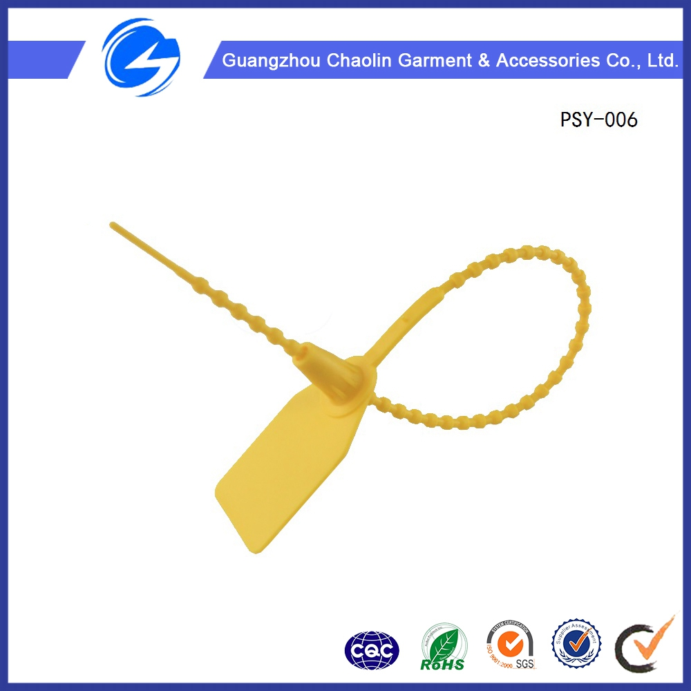 China Plastic Strips Factory Manufacture High Demand Security Plastic Seal