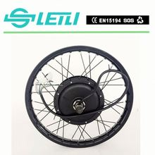 "Powerful 5000w Motorcycle wheel 19"" 72v 5000w electric bike conversion kit made in China"