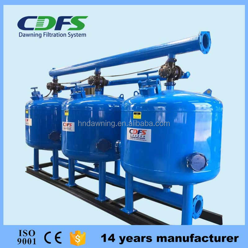 Automatic backwash quartz sand high volume pool water filter