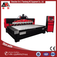 wood furniture engraving machine 4 axis cnc multi head large bed size