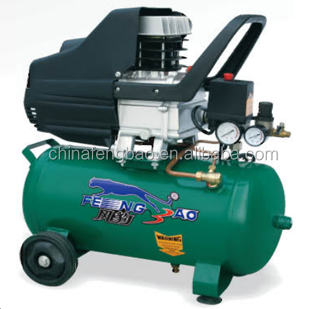 2hp 1.5kw Direct Driven Portable Piston air conditioning compressor