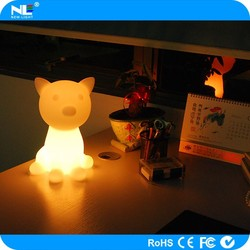 Smart App control LED cute cat/Bluetooth speaker flashing LED pet cat/Smart rechargeable LED animal cat and dog