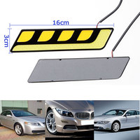 Car Auto LED Daytime Running Light DRL Daylight Kit Signal Lamp Day Lights