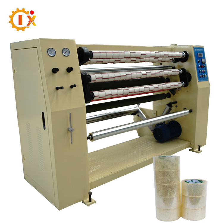 GL-210 Clear bopp roll tape cutting and rewinding machine