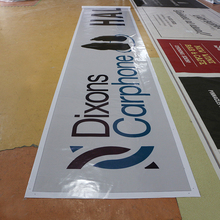Outdoor heavy duty PVC 13oz street pvc vinyl banner with custom printing