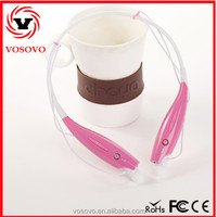 Hot sale stylish cheap mini necklace bluetooth headset with CSR