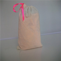 wholesale organic cotton bag/fashion cotton gym bag/diy cotton drawstring bag
