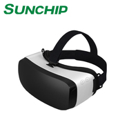 2017 Promotion Virtual Reality Vr Box With Remote 2nd version generation Headset 3D glasses