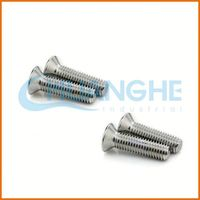 China Manufacturer 2015 new products custom headless set screw stainless steel m4 screw standard length