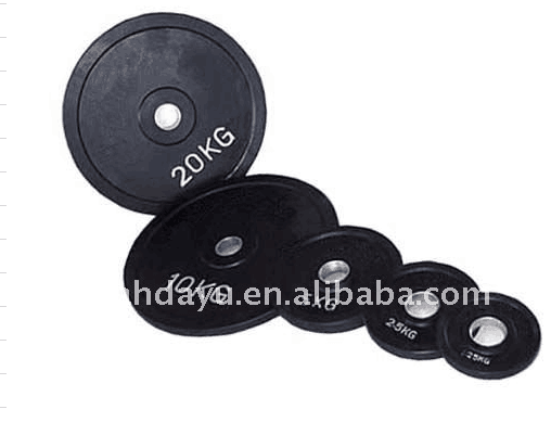 Rubber Coated Weight Plate/Dumbbell/Free Weight
