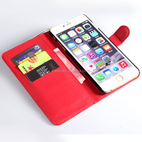 "Luxury PU Leather Flip Case For Apple iphone 6 6s 4.7"" 6 6s plus Phone Cover Cases With Wallet & Stand Function"