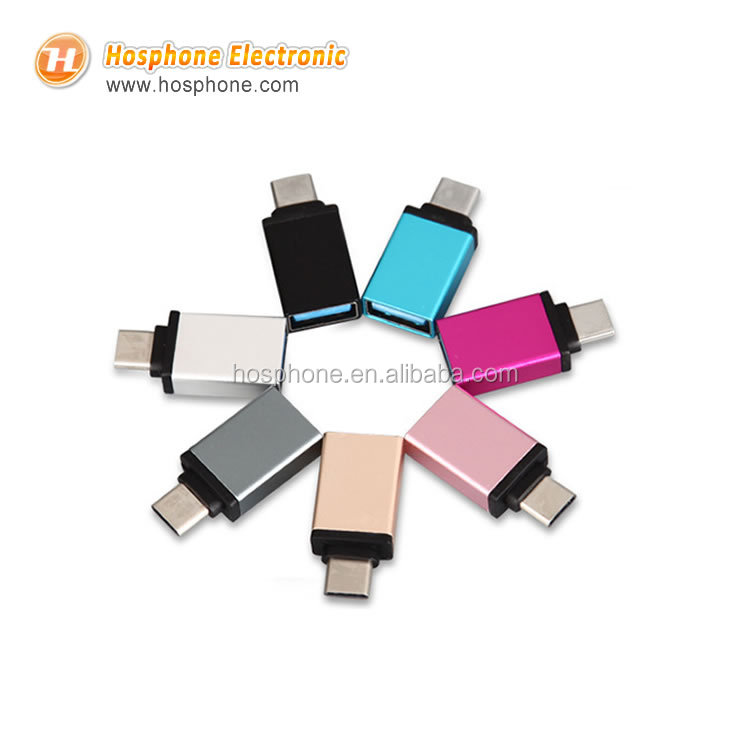 2017 NEW TYPE-C To USB 3.0 Adapter with OTG Function For LG G5 Moto Z HTC <strong>M10</strong> and MacBook Pro Samsung Galaxy Note 8 S8