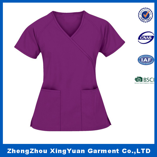 2016 Factory Wholesale New Style Hospital Staff Uniforms,Nurse Medical Scrubs Design
