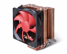CCR25A CPU radiator with copper heat pipe with Approvals