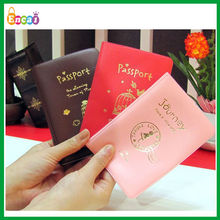 Encai New Design Travel Organizer Passport Cover/Colourful Passport Bags/Tickets&Cards Holder