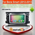 HIFIMAX Android 6.0 car multimedia dvd player with gps navigation for MB Smart dab radio usb stick