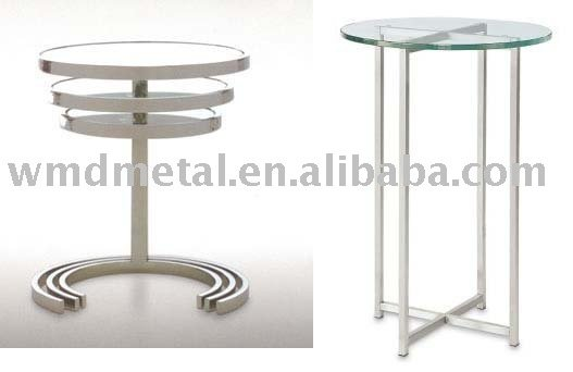 TJ-02 stainless steel round table,chair frame, stand