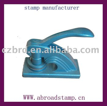 smart desk seal metal embossed seal stamps